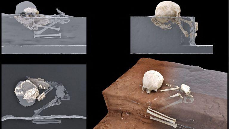 Photo of اكتشاف رفات طفل دفن قبل 78 ألف عام