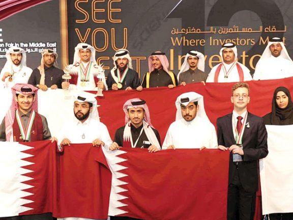 Photo of 14 ميدالية للمبتكرين القطريين بالمعرض الدولي للاختراعات
