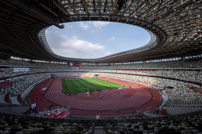 Photo of الاستاد الأولمبي في طوكيو يستضيف تجربة لألعاب القوى بدون جماهير