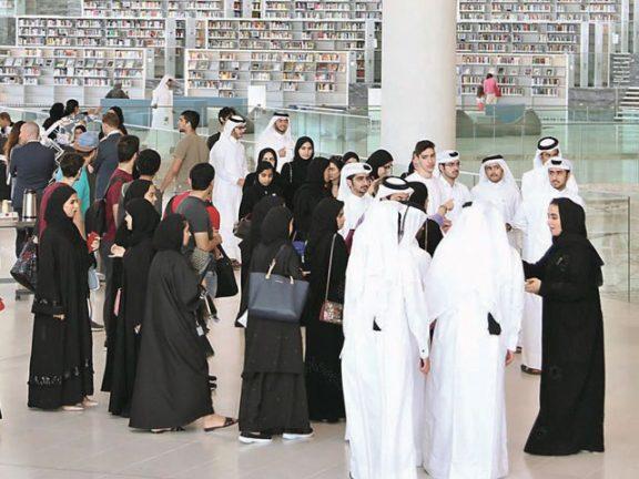 Photo of مكتبة قطر الوطنية تتغنى بحب الوطن في أمسية شعرية