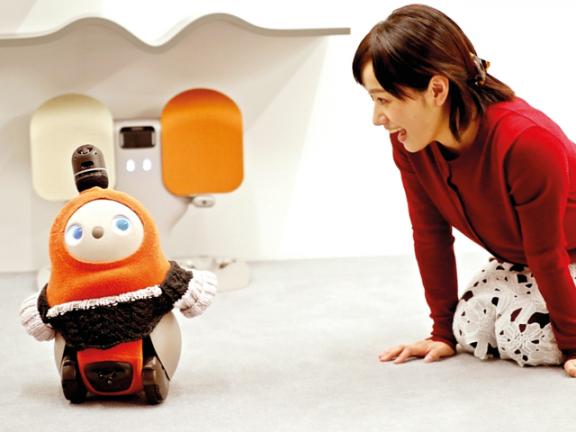 Photo of روبوت يبث السعادة