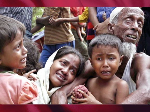 Photo of ميانمار تطلق عملية تطهير جديدة ضد الروهينجا
