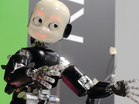 Photo of روبوت يتسلّق الجدران والأسطح
