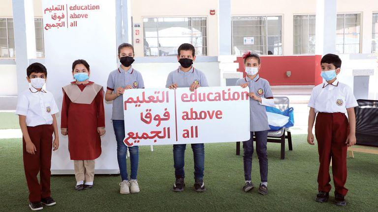 Photo of «التعليم فوق الجميع» توفر فرصًا تعليمية للأطفال المحتاجين