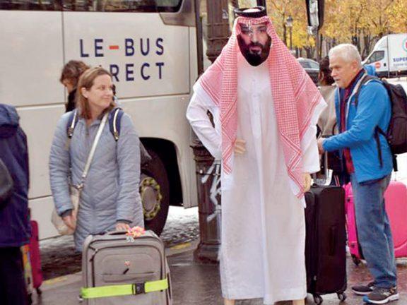 Photo of معرض تمثيلي في باريس يفضح جرائم ابن سلمان