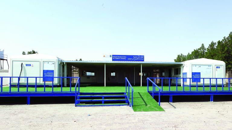 Photo of عيادة سيلين جاهزة لخدمة المخيمين في العيد