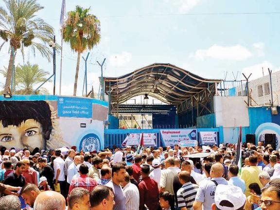 """Photo of """"الأونروا """" تدين اغتيال طائرات الاحتلال أربعة أطفال من طلابها وتطالب بحماية دولية"""