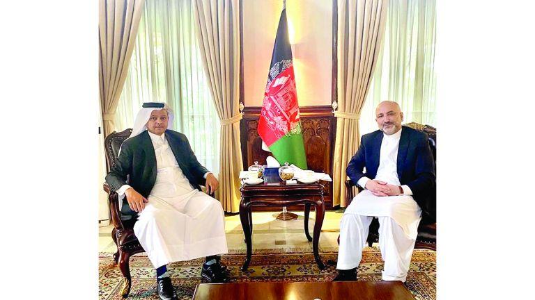 Photo of وزير الخارجية الأفغاني يجتمع مع سفيرنا