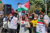 Photo of مظاهرات بجنوب أفريقيا ضد القصف الإسرائيلي على غزة والقمع في القدس
