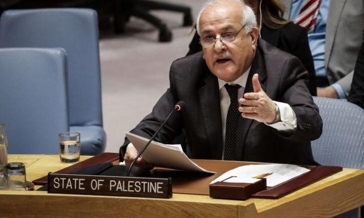Photo of فلسطين تدعو المجتمع الدولي إلى تحميل الاحتلال المسؤولية عن جرائمه بحق الشعب الفلسطيني ومقدراته