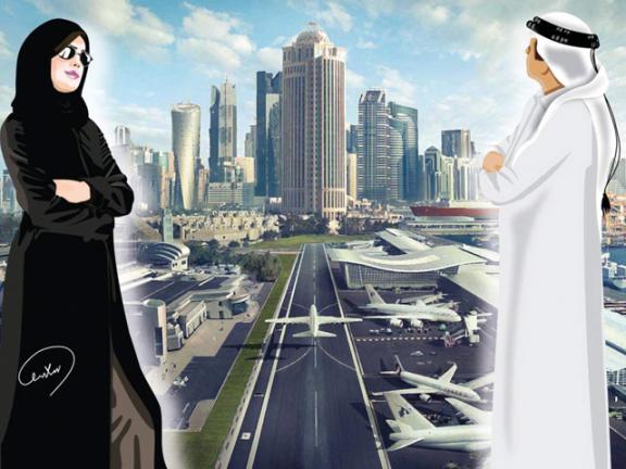 Photo of المرأة القطرية.. شريك النهضة والتنمية