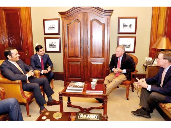 Photo of قطر وأمريكا تبحثان العلاقات الاستراتيجية وجهود مكافحة الإرهاب
