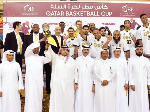 Photo of الملك يُتوج بلقب بطولة كأس قطر لكرة السلة