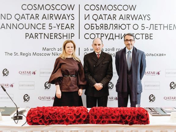 Photo of الخطوط القطرية تعزز علاقاتها مع روسيا