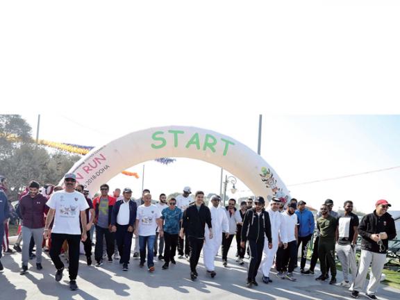 Photo of الدوحة تشارك في الترويج لآسياد جاكرتا بـ الجري المرح