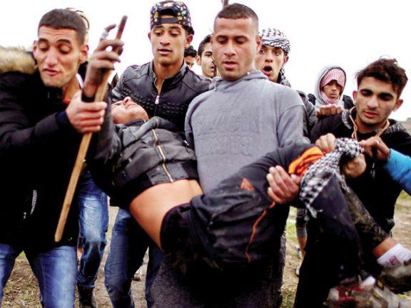 Photo of إصابة عشرات الفلسطينيين بمواجهات مع الاحتلال