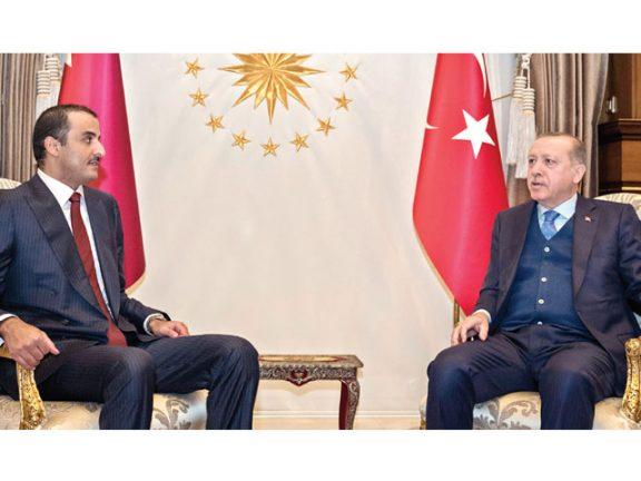 Photo of صاحب السمو والرئيس التركي يعززان التعاون الاستراتيجي