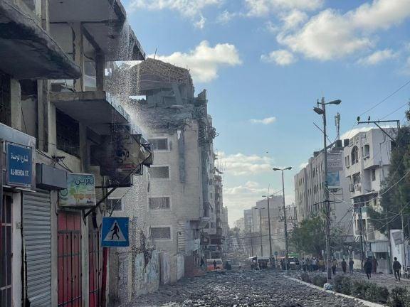 Photo of الصومال تدين استهداف قوات الاحتلال الإسرائيلي لمقر الهلال الأحمر القطري في قطاع غزة