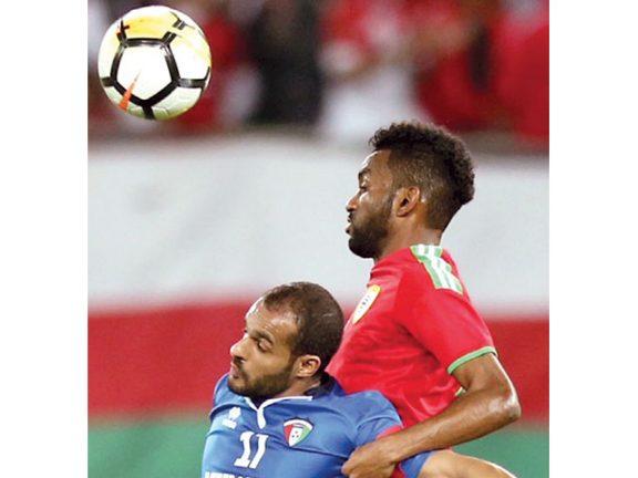 Photo of الأحمر العماني يطيح بالأزرق الكويتي