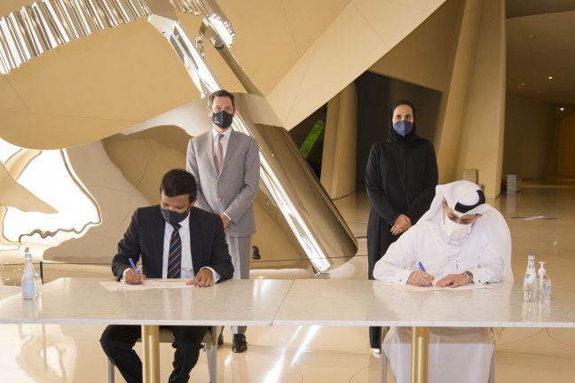 """Photo of متحف الأطفال في قطر يُعلن انضمام شركة """"شلمبرجير"""" إلى """"العائلة المؤسسة"""" للمتحف"""
