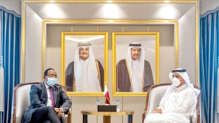 Photo of نائب رئيس الوزراء يجتمع مع وزير الدولة للشؤون الخارجية الإثيوبي