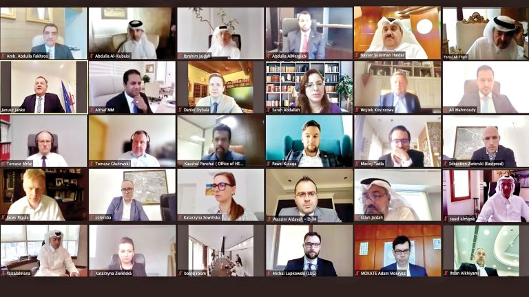 Photo of 40 اجتماعًا لتعزيز التعاون الاقتصادي القطري البولندي
