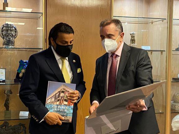 Photo of وزير الدولة لشؤون الرياضة الإسباني يجتمع مع سفير دولة قطر