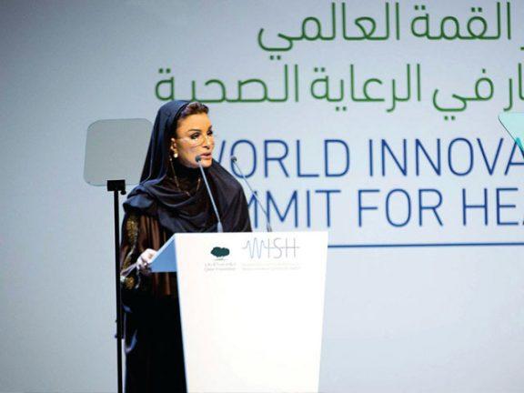 Photo of الشيخة موزا: قطر تستثمر الخبرات العالمية والإقليمية في مجال الصحة