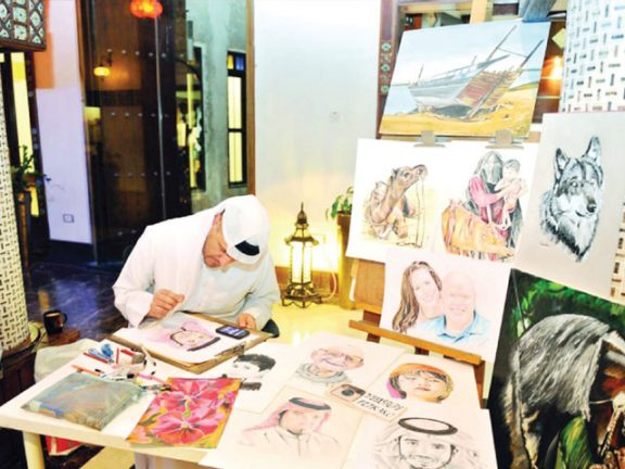 "Photo of ""نجم سهيل"" في واقف للفنون اليوم"