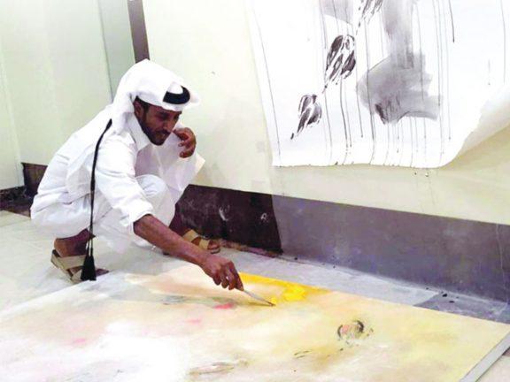 Photo of افتتاح معرض الملتقى الخامس للفنون التشكيلية اليوم