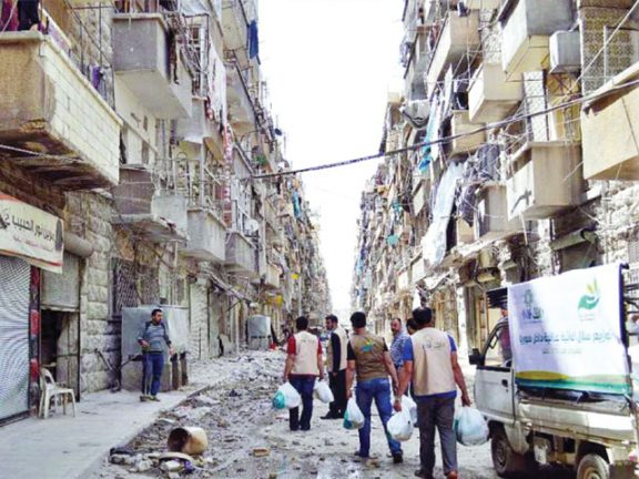 Photo of جمع 11 مليون ريال خلال ساعتين لصالح أهل حلب