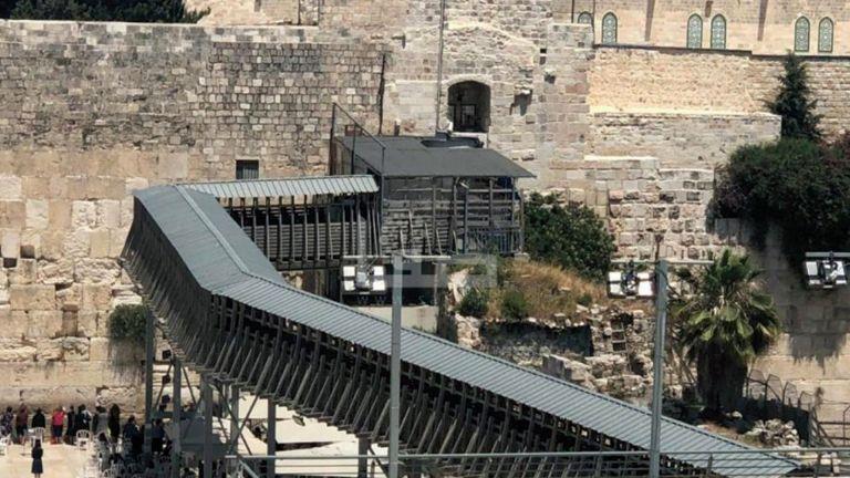 Photo of إسرائيل تخطط لإقامة جسر ضخم جديد في باب المغاربة