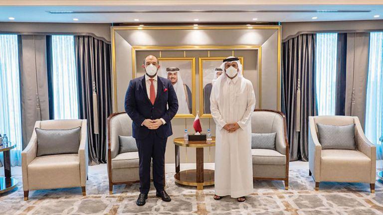 Photo of نائب رئيس الوزراء يجتمع مع سفير الاتحاد الأوروبي
