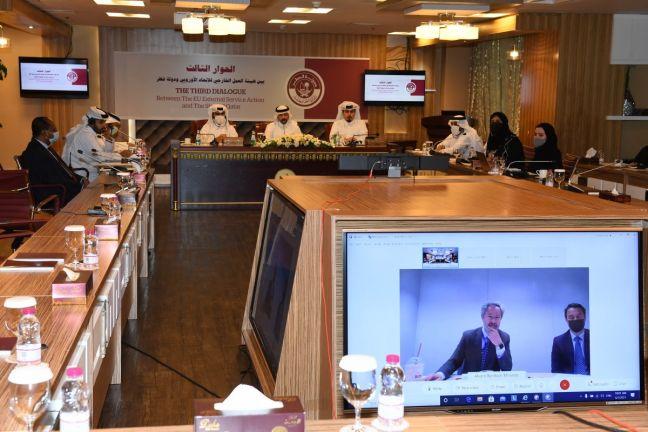 Photo of انعقاد الاجتماع الثالث للحوار بين دولة قطر وهيئة العمل الخارجي للاتحاد الأوروبي
