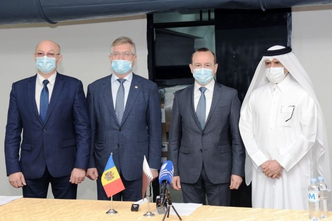 Photo of مساعدات طبية قطرية إلى مولدوفا لمواجهة جائحة كورونا