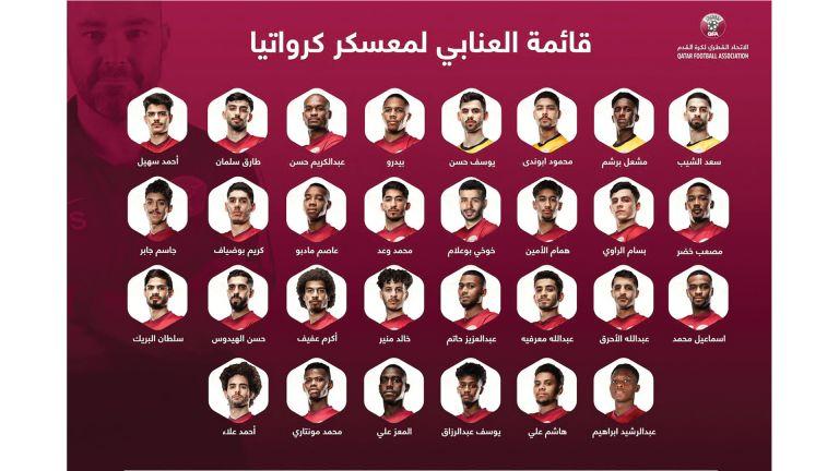 Photo of 30 لاعبًا في معسكر العنابي بكرواتيا