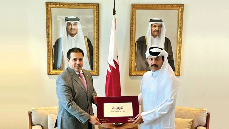 Photo of صاحب السمو حدّد معالم توسيع التعاون بين قطر وروسيا