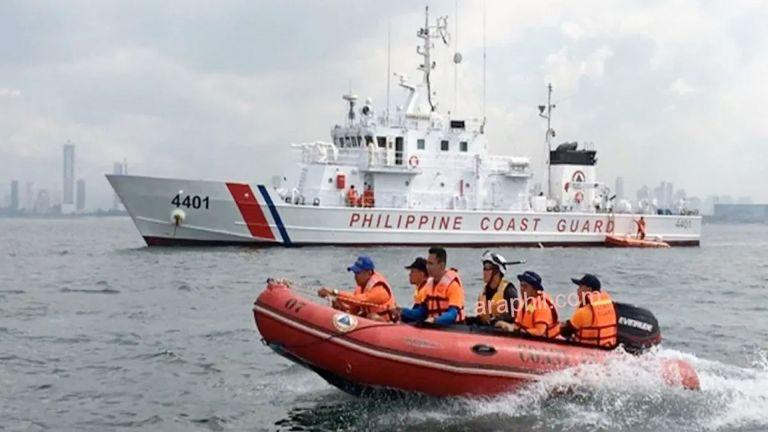 Photo of 6 جرحى بانفجار سفينة في ميناء فلبيني