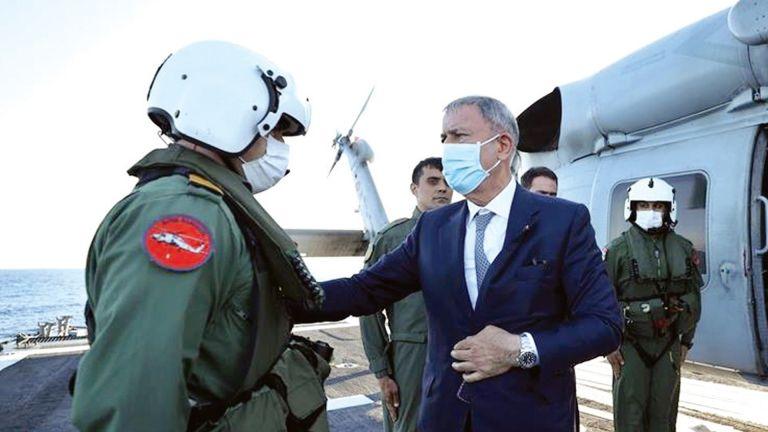 Photo of خلوصي أكار: تركيا ليست قوة أجنبية في ليبيا