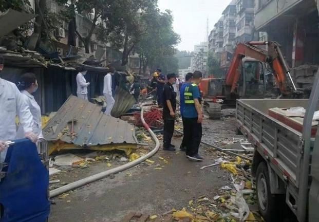 Photo of مصرع 12 شخصا وإصابة أكثر من 100 آخرين جراء انفجار غاز في وسط الصين