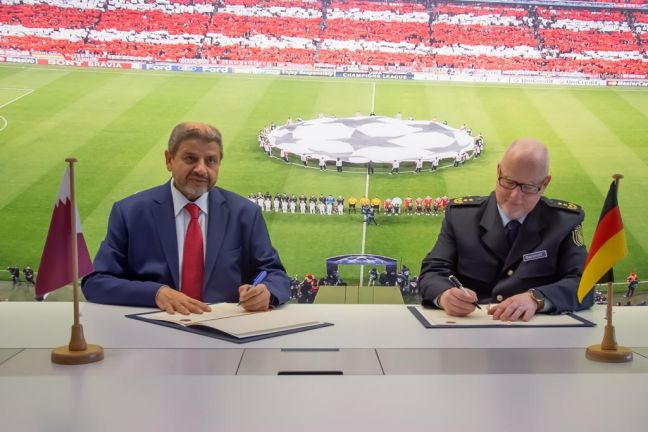 Photo of قطر وألمانيا تعززان تعاونهما الثنائي في مجال تنظيم الفعاليات الكبرى