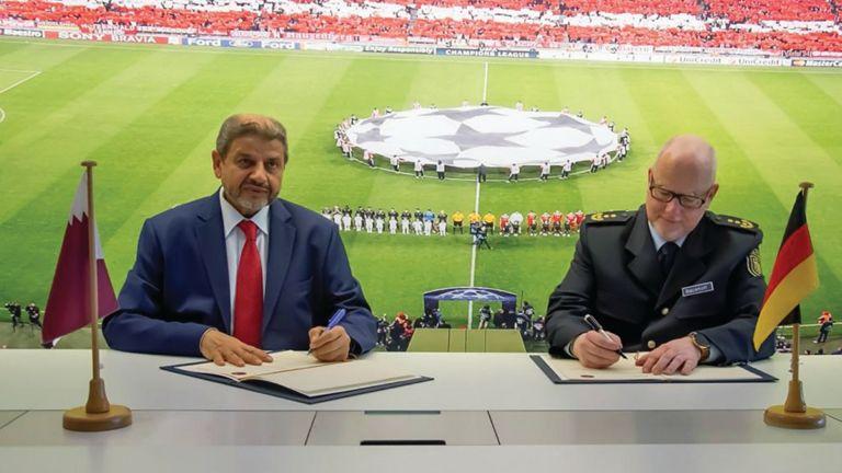 Photo of اتفاق قطري- ألماني في تنظيم الفعاليات الكبرى