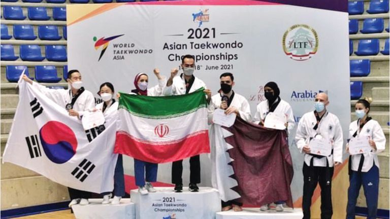 Photo of 5 ميداليات ملونة لـ «أدعم التايكواندو»