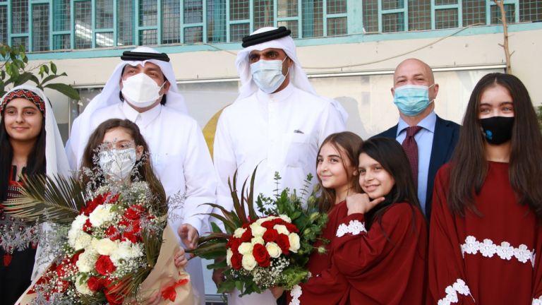 Photo of الأونروا تستضيف وفدا من صندوق قطر للتنمية في إطار دعم دولة قطر لقطاع التعليم
