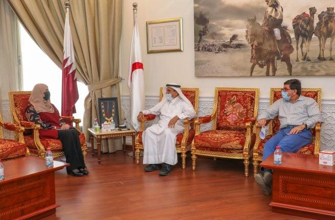 Photo of الهلال الأحمر القطري والمنظمة الدولية للهجرة يبحثان القضايا المشتركة