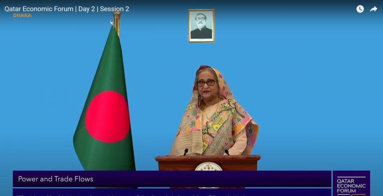 Photo of رئيسة وزراء بنغلاديش تدعو المجتمع الدولي لمواجهة تفشي الأمراض