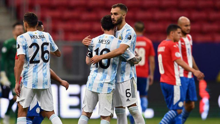 Photo of الأرجنتين وتشيلي إلى ربع النهائي