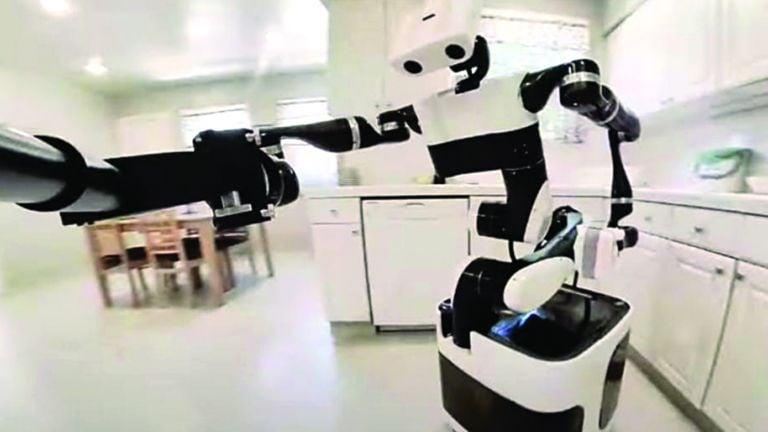 Photo of تويوتا تضيف قدرات جديدة على روبوت رعاية كبار السن