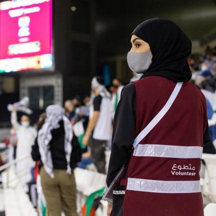 Photo of 600 متطوعاً شاركوا في تنظيم تصفيات كأس العرب