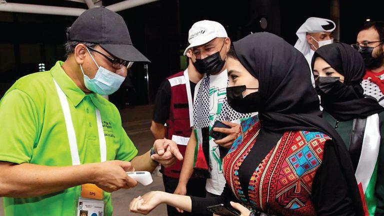 Photo of تميز جديد للمتطوعين على طريق قطر 2022